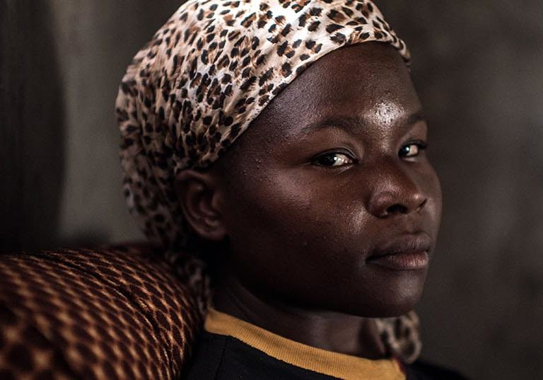 Portrait of Grace from the economic empowerment programme Connecting.